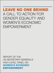 UN Report on Women's Economic Empowerment