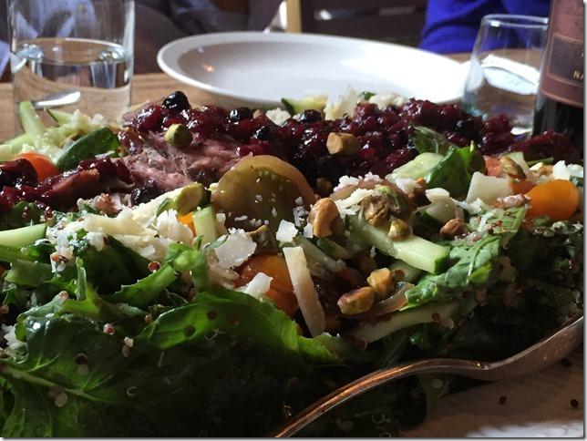 Salad from HIdden Acres Farm on Beach Road_ Sister Bay
