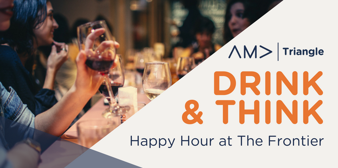 Drink & Think Triangle AMA Alan Hoffler