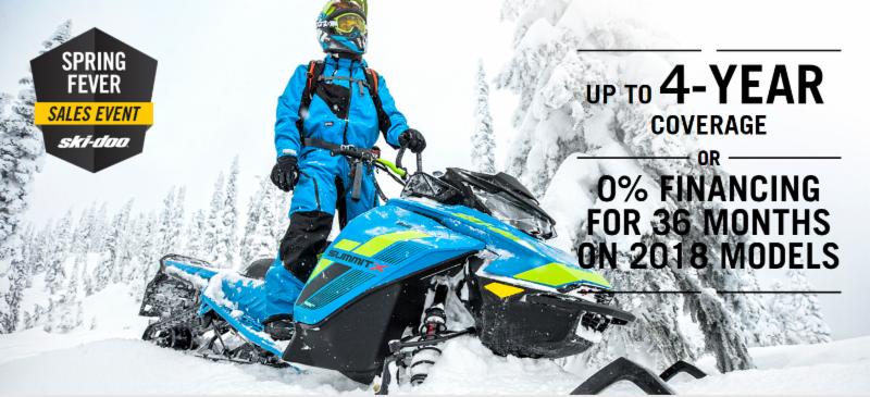Ski-doo Spring Fever Sales Event!