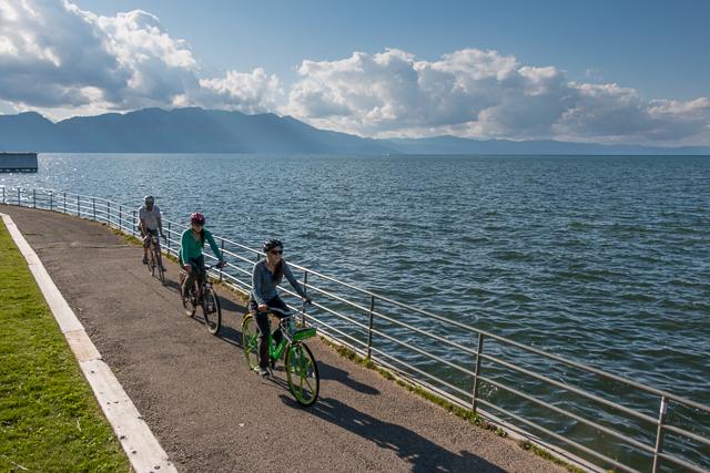 South Tahoe bike share pilot program
