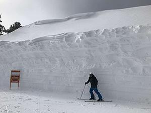 Near-record snowpack