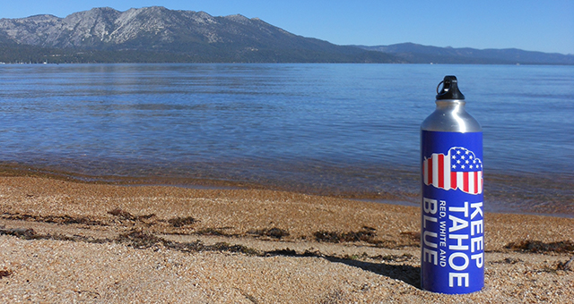 Keep Tahoe Red_ White _ Blue Beach Cleanups