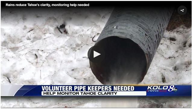 KOLO News 8 covers Pipe Keepers_ water clarity