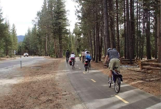South Tahoe bike trail
