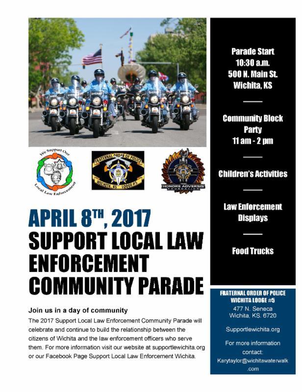 Law Enforcement Parade Info