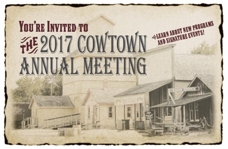 Cowtown Annual Meeting Info