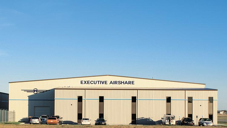 Executive AirShare website