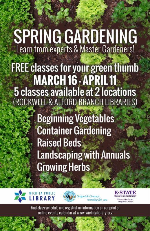 Spring Gardening Registration