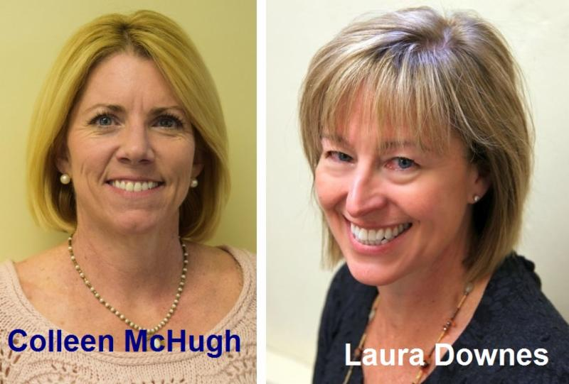 Colleen McHUgh and Laura Downes