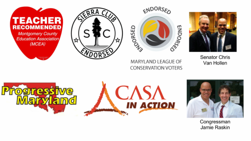 Organizations endorsing Al Carr for re-election