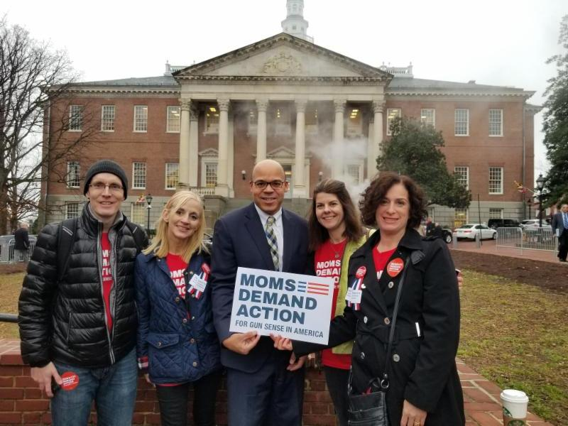 Moms Demand Activists in Annapolis