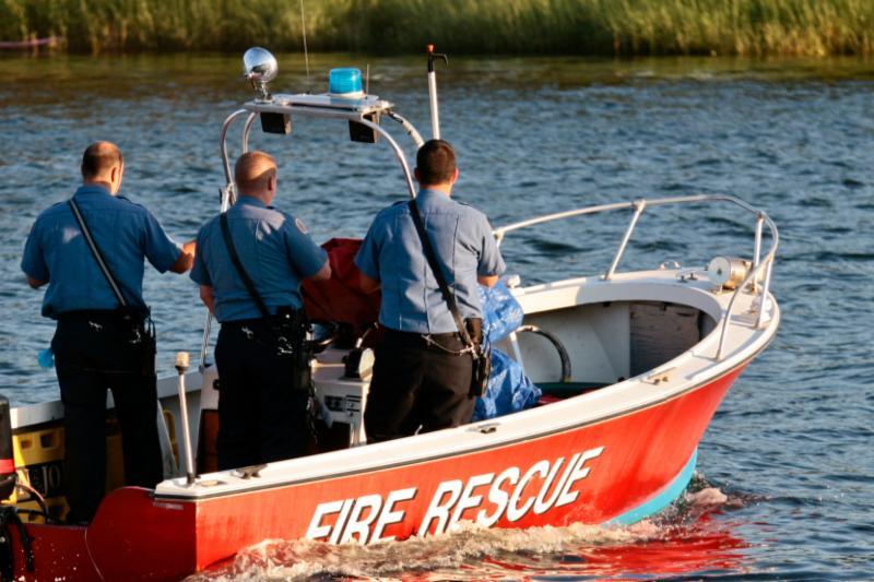 Fire Rescue Boat