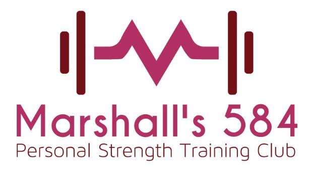 Marshall's 584-Personal Strength Training Club