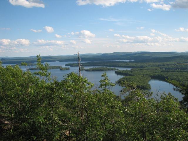 Squam Lake from Rattlesnake
