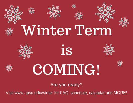 Winter Term is Coming