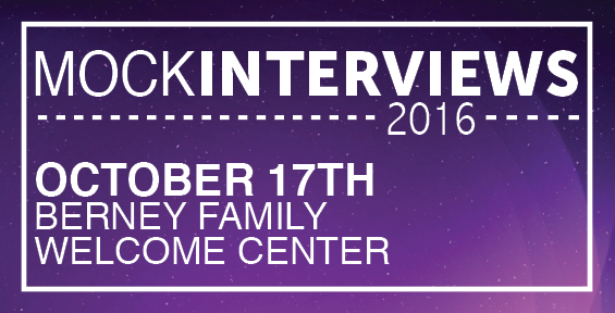 Mock Interviews 2016