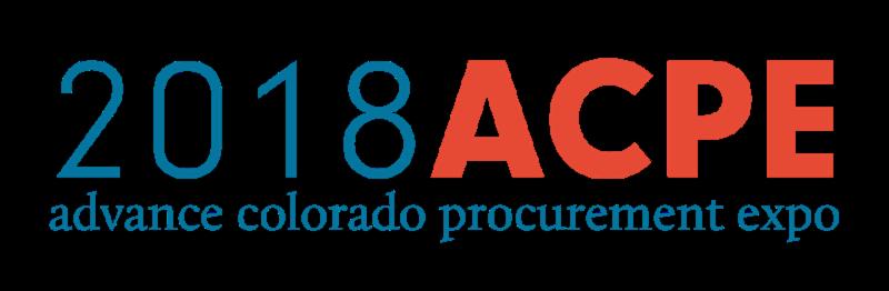 2018 ACEPE: ADVANCE COLORADO PROCUREMENT EXPO