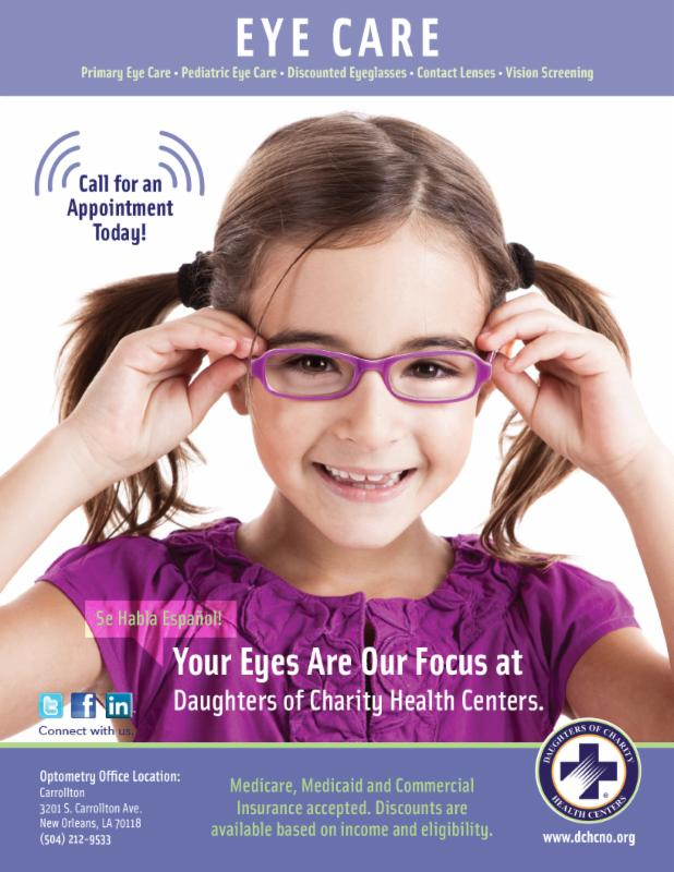 Daughters of Charity - Eye Care