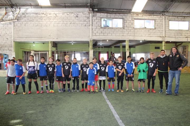Futsal match in Bienos Aires