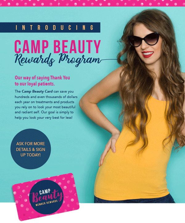 Camp Beauty Rewards Program