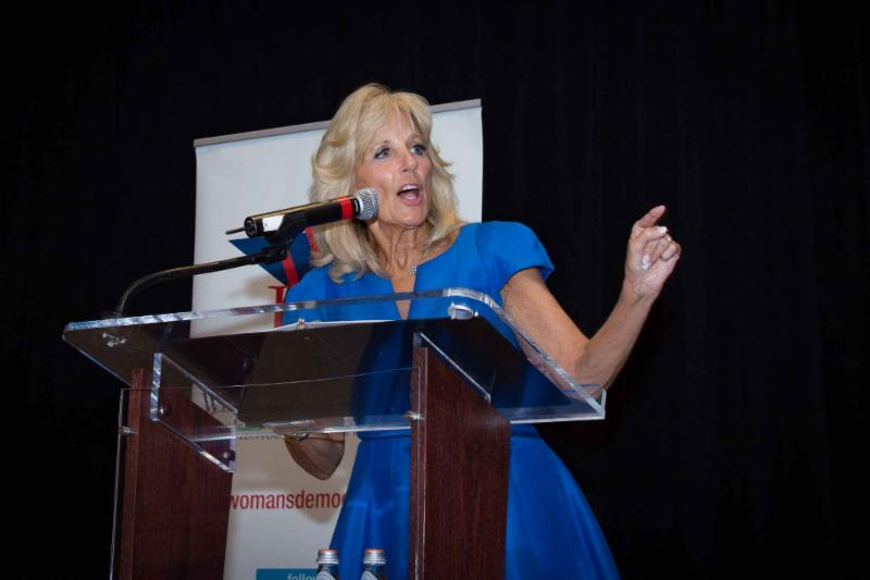 Dr. Jill Biden image by Audrey Rothstein Photography