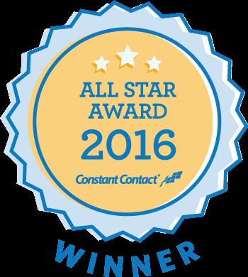 All Star Award badge