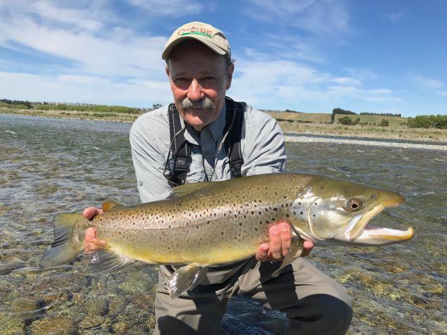 Mataura brown trout fly fishing