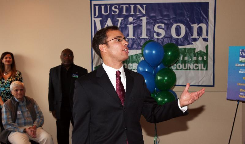 Justin Speaking At Town Hall