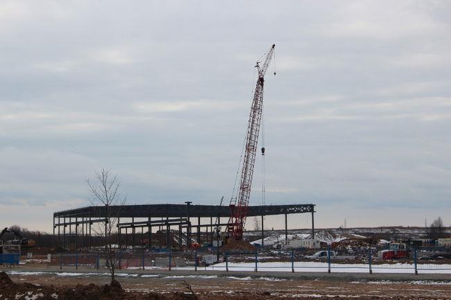 GE plant taking shape