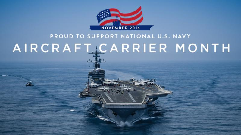 Aircraft Carrier Month