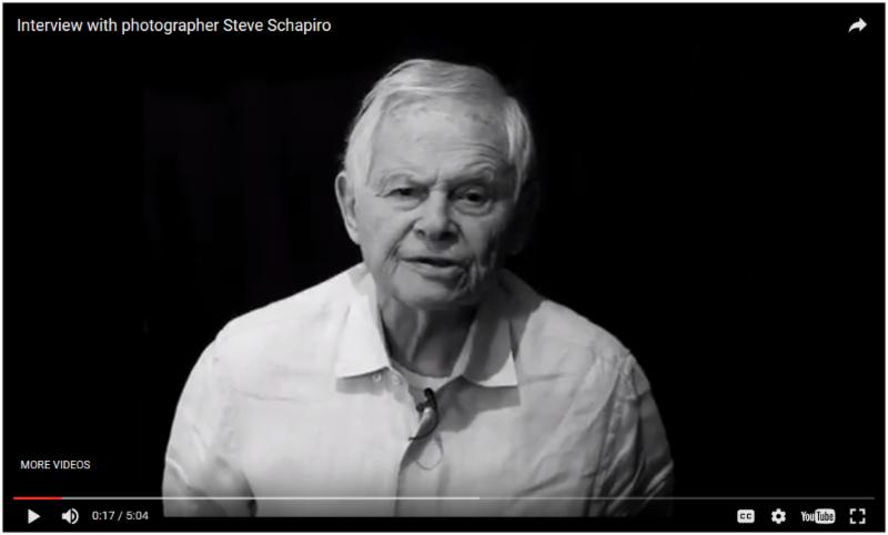 STEVE SCHAPIRO_INTERVIEW