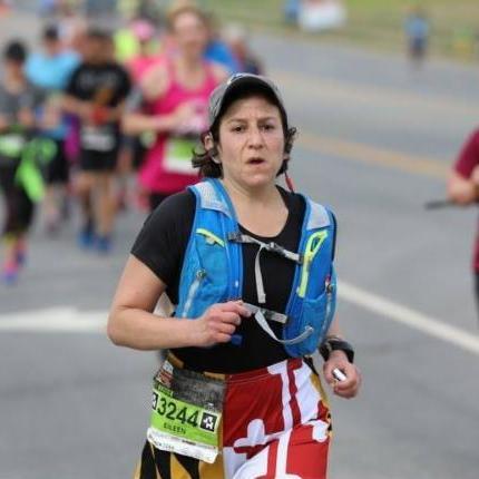 Eileen Levitt during Frederick Run
