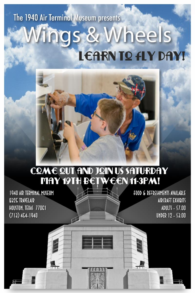 Wings & Wheels - Learn to fly day