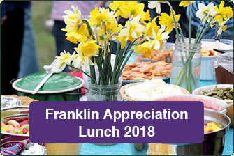 Franklin Appreciation Lunch 2018