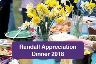 Randall Appreciation Dinner 2018