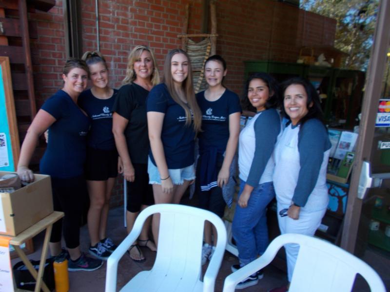 National Charity League Volunteers