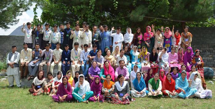 Teacher training group photo