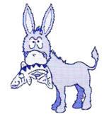 DCDP Fish Fry donkey