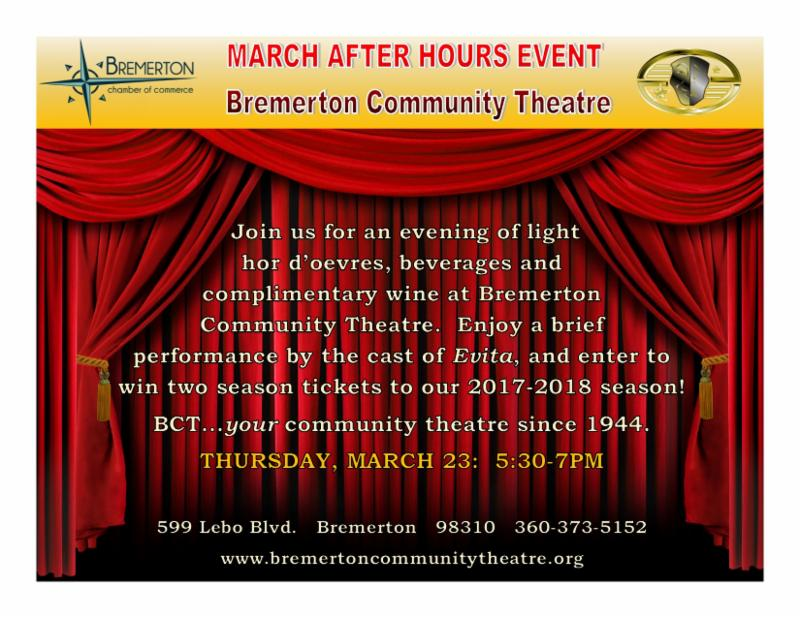 Bremerton Chamber of Commerce March Newsletter