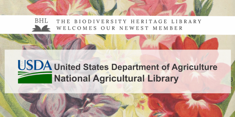 BHL welcomes National Agricultural Library