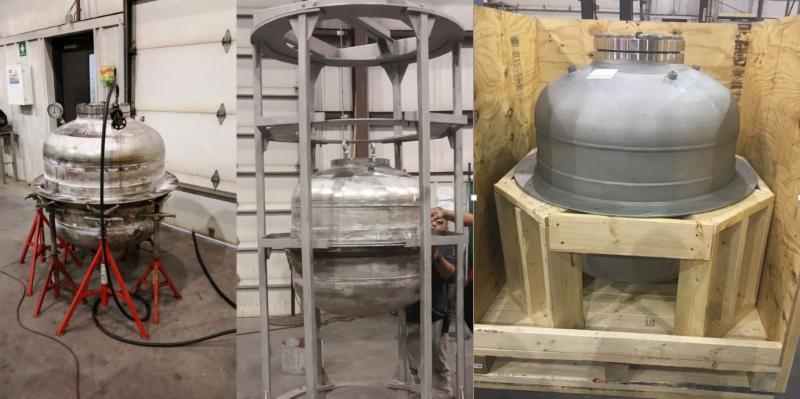 Hydrogen reactor prototype