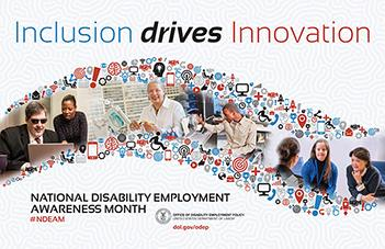 people with diverse disabilities win employment setting
