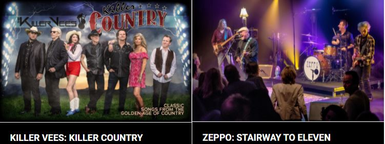 Upcoming shows at the Sheldon Theatre
