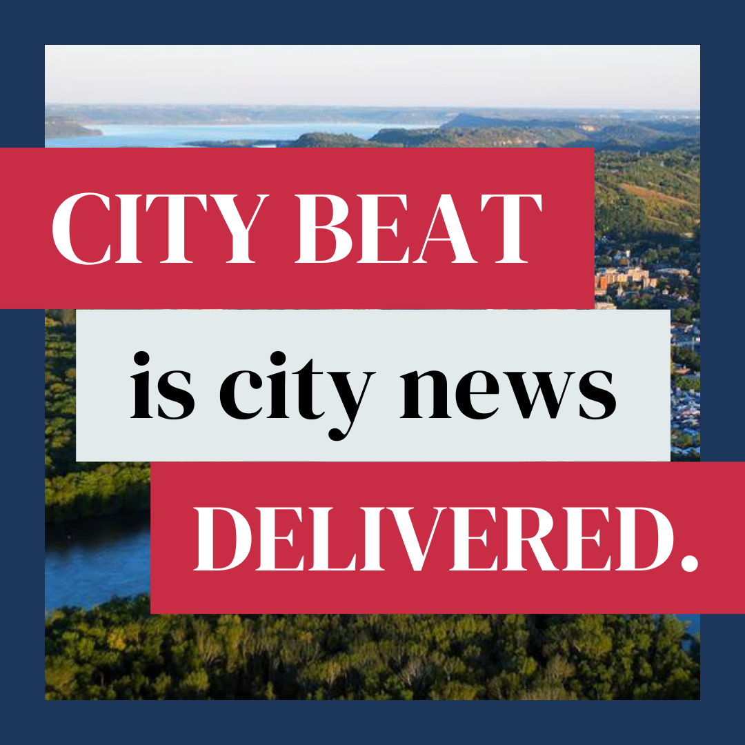 City Beat is city news delivered against a background of the city of Red Wing