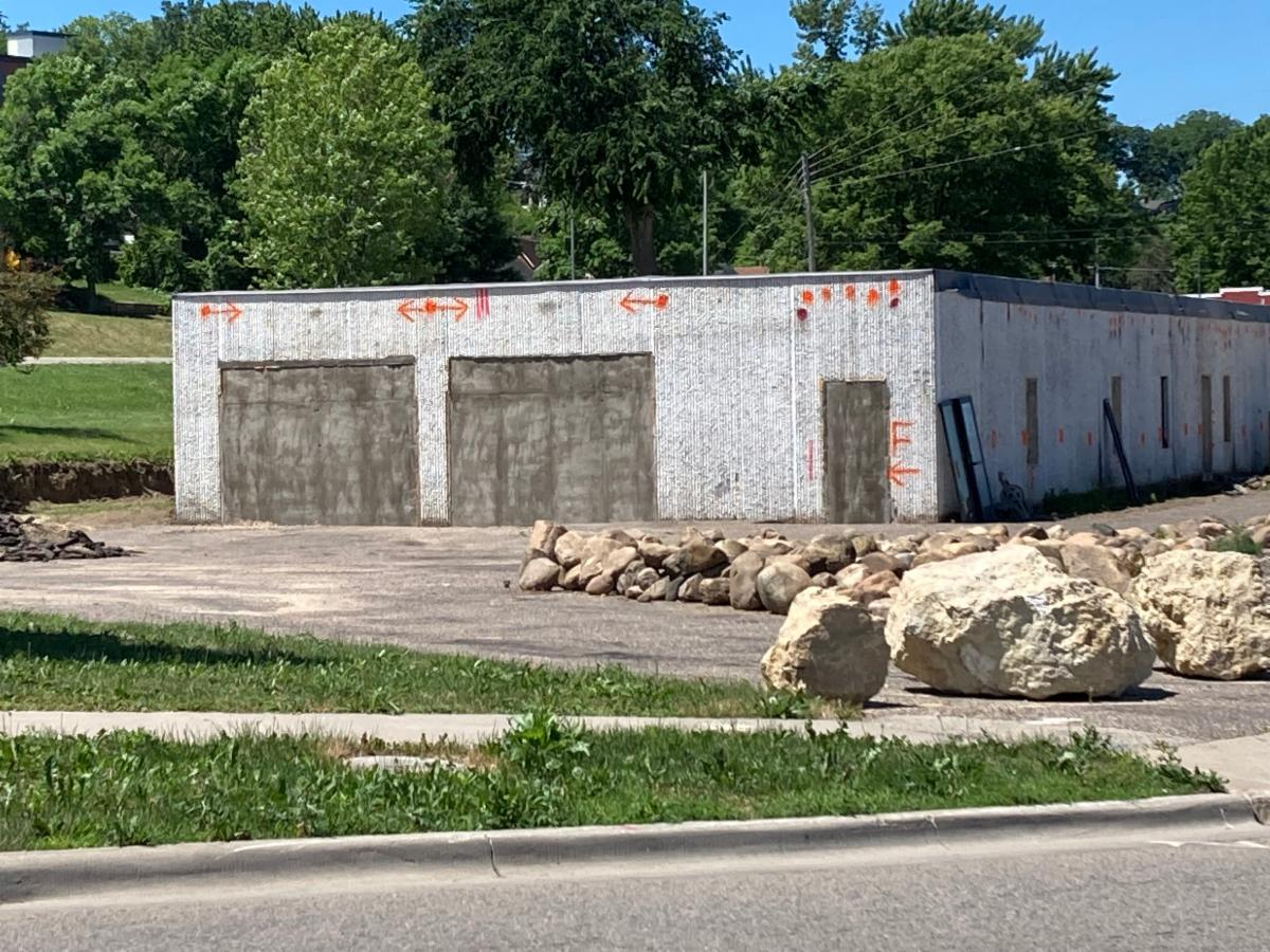 Photo of old car wash on Old West Main Street Red Wing