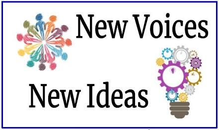 Logo of the New Voices New Ideas event