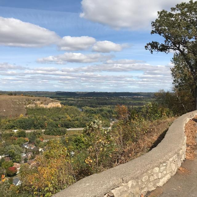 Image of cleared overlook view