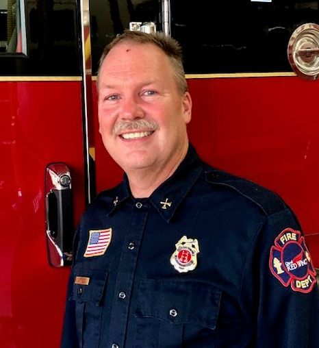 Photo of retired Captain Scott Will of the RWFD