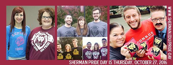 Sherman PRide Day October 27
